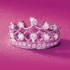 Decided I need a crown ring.. because I'm an effing princess and it's about time I'm seen as one! lol