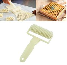 · Professional quality lattice dough cutter. lattice,You can use it to make biscuits, cookies. chocolate,bread, pie, cake, pizza etc. · Create perfect lattice tops for pies and tarts in seconds with a simple roll action. | eBay!