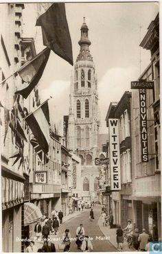 Karrestraat met zicht op Torenstraat