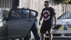 The operation targeting the Head Hunters' Christchurch pad is linked to a major police investigation. Head Hunter, Hunter S, Biker Clubs, Motorcycle Clubs, Maori Tattoo Designs, Angel S, Put On, Crime, Police