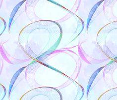 Pastel_swirls_spn fabric by koobear on Spoonflower - custom fabric