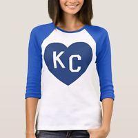 Womens KC Heart Shirt