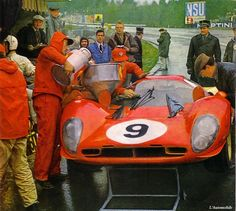 1967-Spa-330 P 4-Parkes-Scarfiotti-chassis 0858