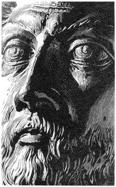 Simon Brett - wood engraving