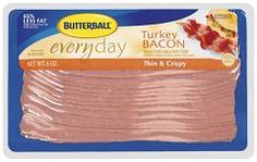 ... ve found to the real deal: Butterball Thin & Crispy Turkey Bacon