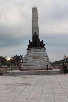 Rizal Monument at Luneta Park, Manila, Philippines