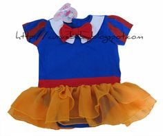 Baby Girl Snow White Costume Romper   Item Code: BR0027S Item Size: All Size Material: 100% Cotton Age: 0-12 months  Price: $11