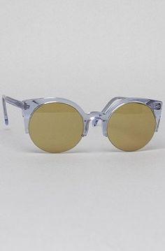 Super Sunglasses Women's The Lucia Sunglasses One Size Blue Super Sunglasses. $163.00