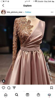 Wedding Dress Bustle, Desi Wedding Dresses, Simple Bridesmaid Dresses, Hijab Evening Dress, Hijab Dress Party, Fancy Dress Design, Stylish Dress Designs, Elegant Dresses, Beautiful Dresses