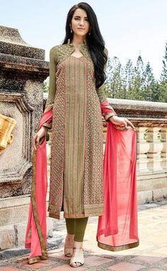 Green Lucknowi Salwar Kameez Khwaab..@ fashionsbyindia.com #designs #indian #womens #style #cloths #stylish #casual #fashionsbyindia #punjabi #suits #wedding #chic #elegance #beauty #outfits #fantasy #embroidered #dress #PakistaniFashion #Fashion #Longsuit #FloralEmbroidery #Fashionista #Fashion2015 #IndianWear #WeddingWear #Bridesmaid #BridalWear #PartyWear #Occasion #OnlineShopping #salwar #kameez