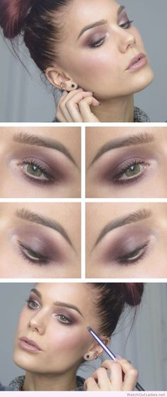 Makeup Artist ^^ | https://pinterest.com/makeupartist4ever/  Linda Hallberg interesting makeup for green eyes