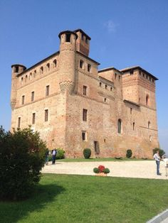 CAVOUR - Castello di Grinzane Cavour. Langhe, province of Cuneo, region of Piedmont, Italy