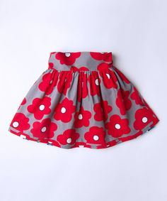 Take a look at this Moma Reversible Drindl Wrap Skirt - Toddler & Girls today! Baby  For my Kenzie Poppy