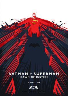 Batman v Superman by Safak Simsek