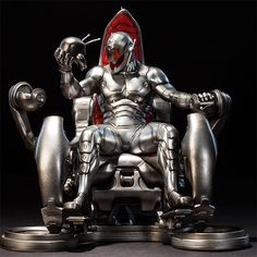Classic Ultron on Throne #Marvel