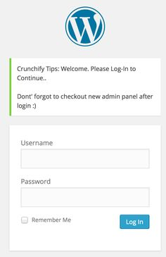 Top 5 WordPress Login Page Tweaks