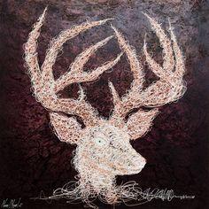 Artist : Manuel Miguel, Title : De la serie tejidos internos (Busto de ciervo). Para mayor información: https://www.facebook.com/pg/MADartmx/photos/?tab=album&album_id=995476873796067