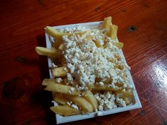 French fries with feta cheese :)