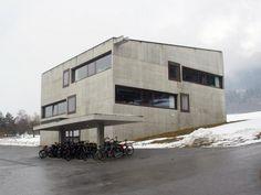Paspels School - valerio olgiati - Paspels - switzerland