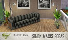 Mod The Sims - 10 Maxi LOL Sofas - volume 1