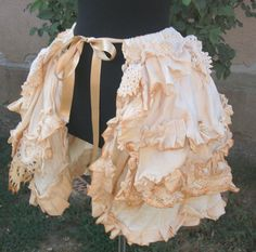 Steampunk Skirt or Shrug.