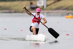 Are we there yet?: The Olympics still hasn't found gender parity in many events, including canoe. Here's why. [Photo by Balint Vekassy / CKC]