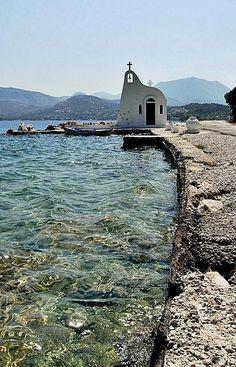 Ireon Lake ~ Loutraki, Greece - Photo by Eleanna Kounoupa Mykonos Greece, Crete Greece, Athens Greece, Kusadasi, Beautiful Islands, Beautiful Places, Greece Pictures, Greek Isles, Samos