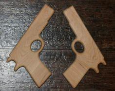 Wood Toy Guns by RoRosWoodshop on Etsy