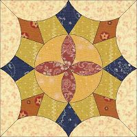 Country Rose Quilts: Block 1