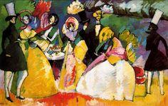 Vasili Kandinsky: Secessión de Berlín y La Bauhaus