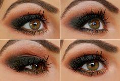 Makeup Tips, Beauty Reviews, Tutorials | Miss Natty's Beauty Diary Blog: Step by Step Autumn Smokey Eyes Tutorial!