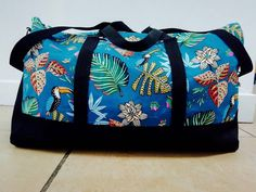 Sac Boston Tropical cousu par Zamata - Patron Sacôtin