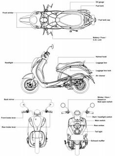 SYM MIO 50-100 Scooter Scooter Design, Bike Design, Bike Drawing, Cafe Racer Honda, Cartoon Wallpaper Hd, Industrial Design Sketch, Animation Tutorial, Futuristic Cars, Car Sketch