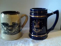 AIR FORCE mug ●●● USA AIR FORCE ACADEMY -