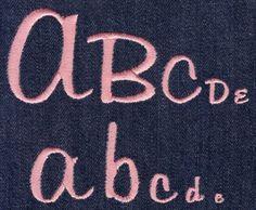 322 Tabitha Satin Font