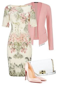 Untitled by modestsisterz featuring Adrianna Papell, Christian Louboutin, Diane Von Furstenberg, maurices and clothing Work Fashion, Modest Fashion, Fashion Dresses, Fashion Looks, Fashion Clothes, Mode Outfits, Dress Outfits, Dress Clothes, Maxi Dresses