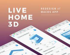 Ознакомьтесь с этим проектом @Behance: «Live Home 3D Redesign» https://www.behance.net/gallery/51180577/Live-Home-3D-Redesign