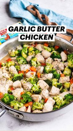 Paleo, Keto, Garlic Butter Chicken, Cooking Recipes, Healthy Recipes, Baked Chicken Recipes, Chicken And Vegetables, One Pot Meals, Poultry
