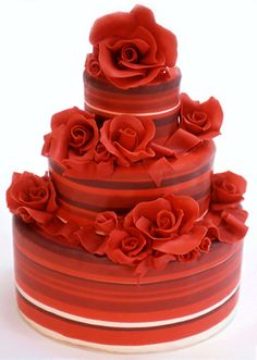 Wedding Cakes Pictures: Red Wedding Cakes Pictures