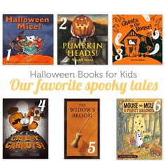 High quality Halloween books to read with the kids by candlelight this October.