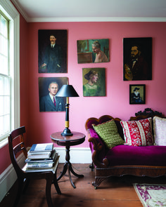 Looking to add more colour to your home? We asked Joa Studholme of Farrow & Ball for tips on how to use a colour wheel for interior design and scheming Pink Bedroom Walls, Pink Room, Pink Walls, Cinder Rose Farrow And Ball, Interior Rugs, Interior Design, Scandinavian Interior, Farrow And Ball Living Room, Cosy Home