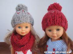 Ideas que mejoran tu vida Knitting Dolls Clothes, Sewing Dolls, Knitted Dolls, Knitted Hats, Blythe Dolls, Girl Dolls, Barbie Dolls, Knitting For Kids, Free Knitting