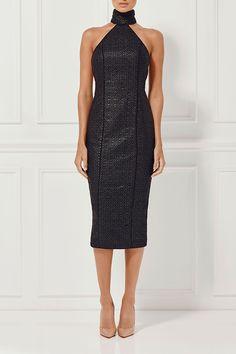 WILHELMINA DRESS EBONY - Dresses - Shop