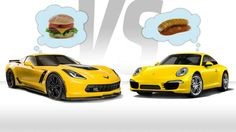 Would You Buy A Loaded Chevy Corvette Or Base Porsche 911?