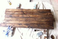 Paper Daisy Designs: Build a Rustic Sofa Table