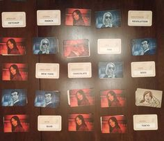 Friday Night Gaming: Codenames! x2 both wins for the red team! (My team!) :)