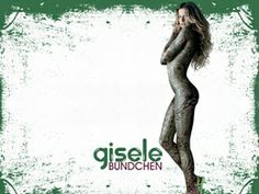 Hot Gisele Bundchen Bodypainting Sexy Wallpapers Download