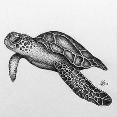 Sea Turtle Wall Art Print, Giclee Watercolour Painting, Turquoise Ocean Illustration Blue Home Decor, Abstract Sea Animals Nursery Wall Art Stippling Drawing, Stippling Tattoo, Turtle Tattoo Designs, Sea Turtle Tattoos, Sea Turtle Art, Sea Turtles, Sea Turtle Painting, Baby Turtles, Ocean Drawing