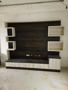 """Exceptional """"tv wallmount diy"""" information is available on our site. Lcd Panel Design, Wall Mounted Tv, Wall Unit Designs, Cupboard Design, Lcd Wall Design, Pooja Room Door Design, Living Room Tv Unit Designs, Wall Tv Unit Design, Tv Wall Decor"""