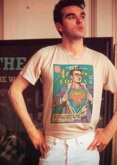 New Wave Super Friends// Morrissey New Wave Music, The New Wave, Sound Of Music, Moz Morrissey, The Smiths Morrissey, 80s Party Costumes, Music Illustration, Charming Man, Music Icon